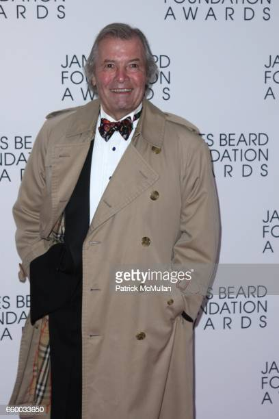 Jacques Pépin attends The 2009 JAMES BEARD FOUNDATION AWARDS at Avery Fisher Hall at Lincoln Center on May 4 2009 in New York City