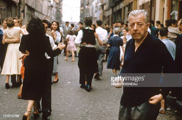 Jacques Prevert Among The Locals Of The Village OmonVilleLaPetite Celebrating The 14Th Of July Rue De Nantes