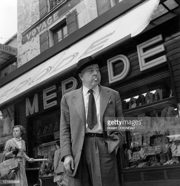 Jacques Prevert Avenue Du General Leclerc In Front Of Merode Shop Paris 14Th District
