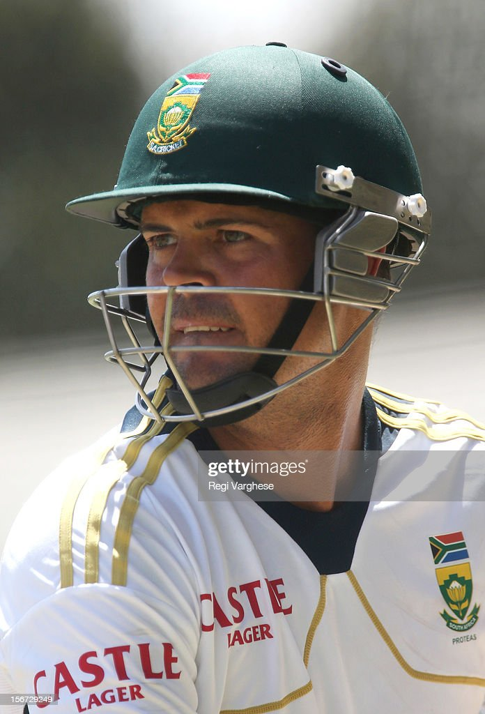 Jacques Rudolph looks on during a South African Proteas training session at Adelaide Oval on November 20, 2012 in Adelaide, Australia.