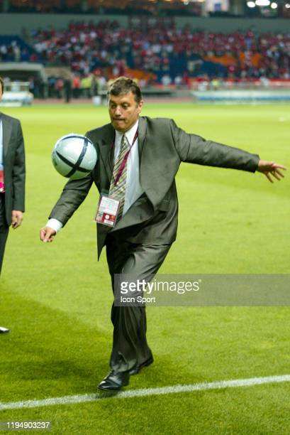 Jacques SANTINI head coach of France during the European Championship Pool B match between Switzerland and France at Estadio Cidade de Coimbra,...