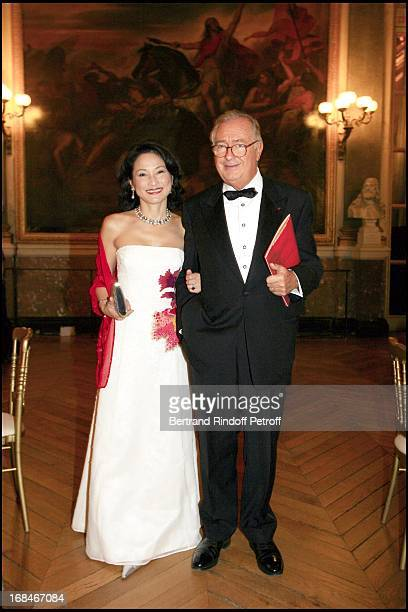 Jacques Tajan and his wife Gala dinner organized by Pasteur Weizmann at Versailles to honour Maria Callas