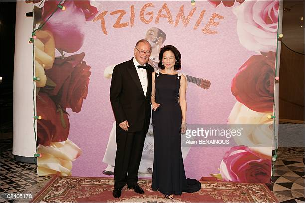 Jacques Tajan and his wife in Monaco on March 24 2007