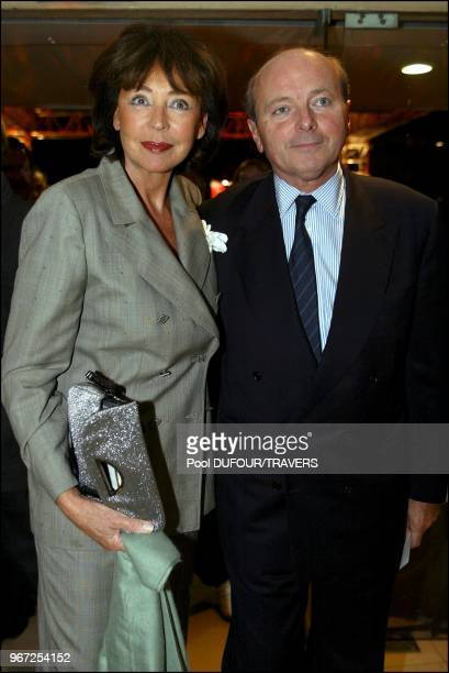 Jacques Toubon and his wife Lise