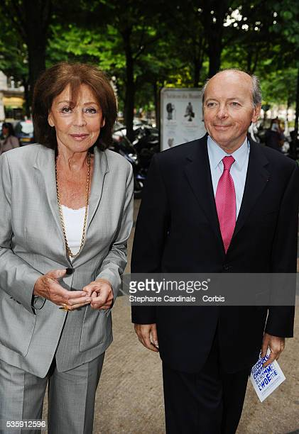 Jacques Toubon and Lise Toubon attend the Culture and Diversity Foundation 4 Th Anniversary