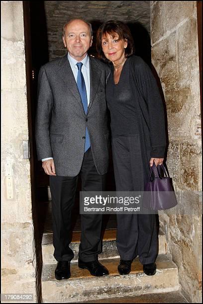 Jacques Toubon and wife Lise Toubon at The Awards Ceremony For Des Meilleurs Plats De L'Annee 2010 By The Lebey Guide At Maison De La Chasse Et De La...