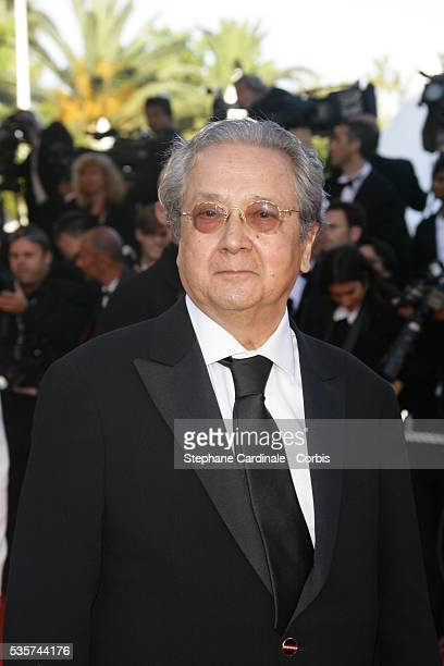 Jacques Verges arrives at the premiere of 'Zodiac' during the 60th Cannes Film Festival