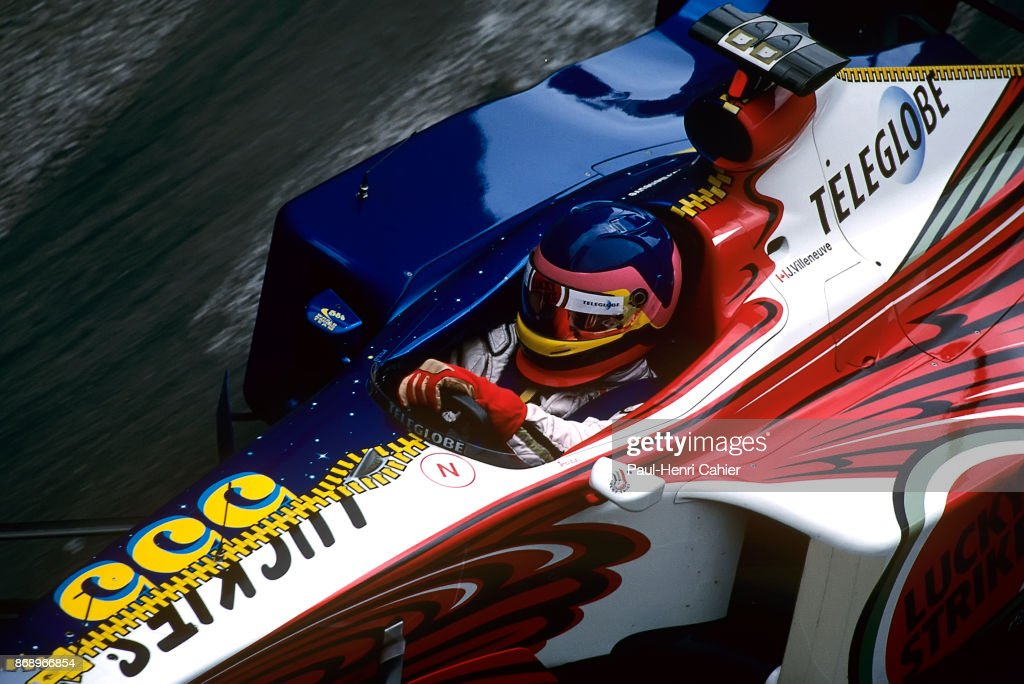 Jacques Villeneuve, Grand Prix Of Monaco : News Photo