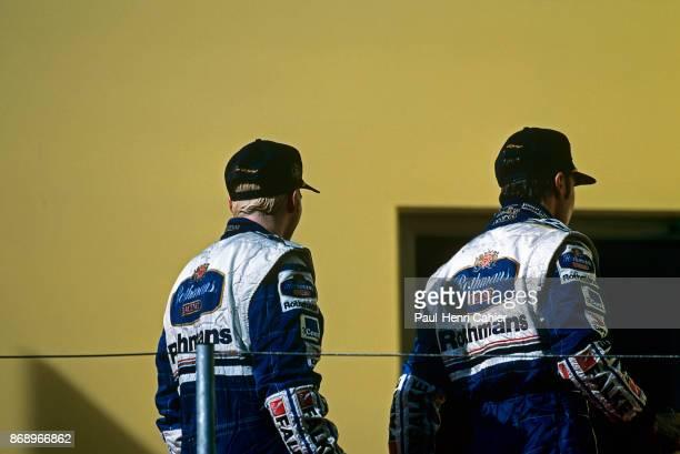 Jacques Villeneuve, Heinz-Harald Frentzen, Grand Prix of Austria, A1-Ring Spielberg, 21 September 1997. Jacques Villeneuve and teammate Heinz-Harald...
