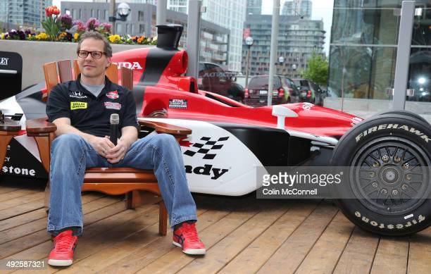Jacques Villeneuve, Indy 500 champion and F1world champion, made an appearance at Hunter's Landing in downtown Toronto today talking about the Indy...