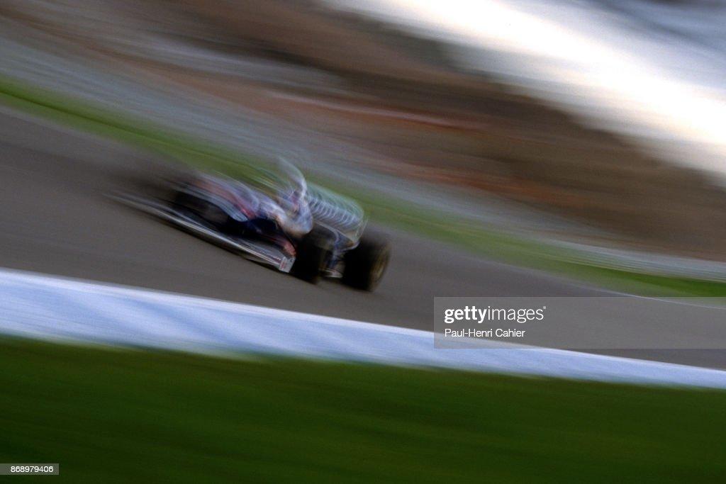 Jacques Villeneuve, Grand Prix Of Europe : News Photo