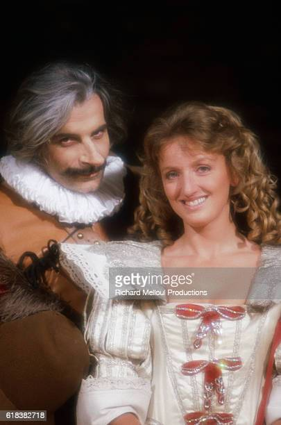 Jacques Weber and Charlotte de Turckheim star as the largenosed poet and his love interest Roxanne in a 1983 production of Cyrano de Bergerac The...