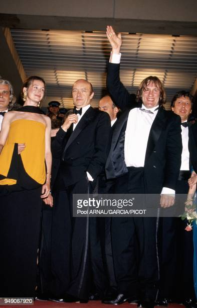 Jacques Weber Anne Brochet JeanPaul Rappeneau and Gerard Depardieu