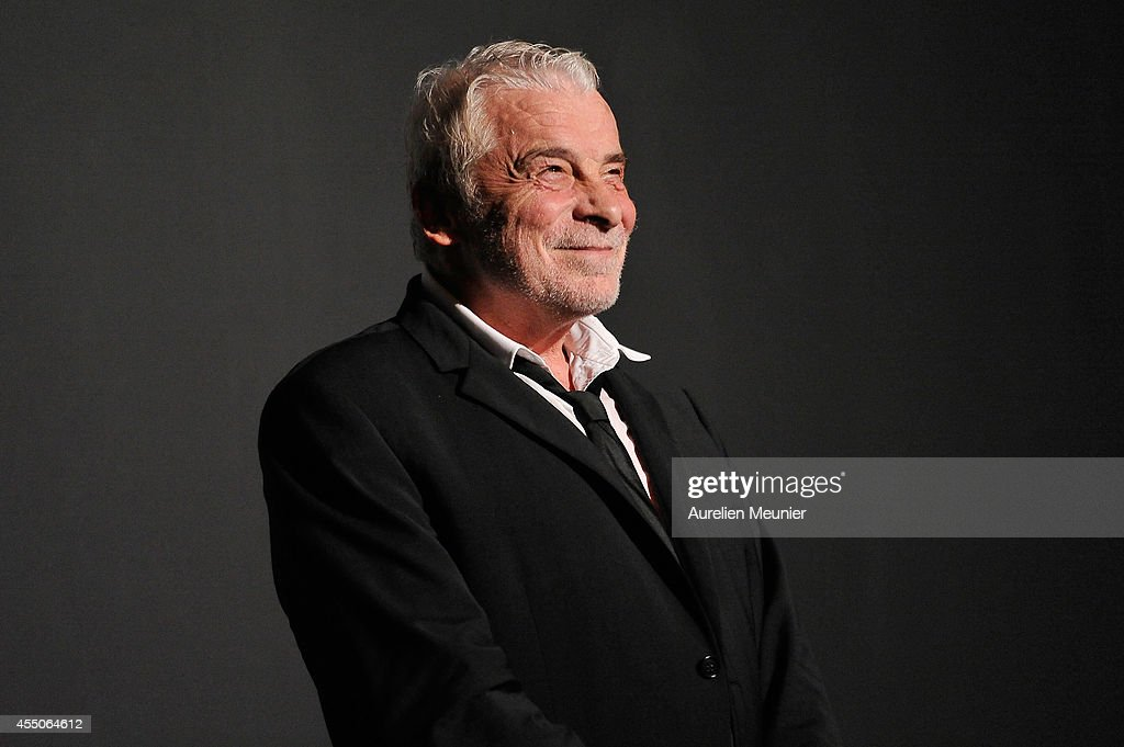 Jacques Weber poses onstage during the 'Hotel Europe' Premiere at Theatre de L'Atelier on September 9, 2014 in Paris, France.
