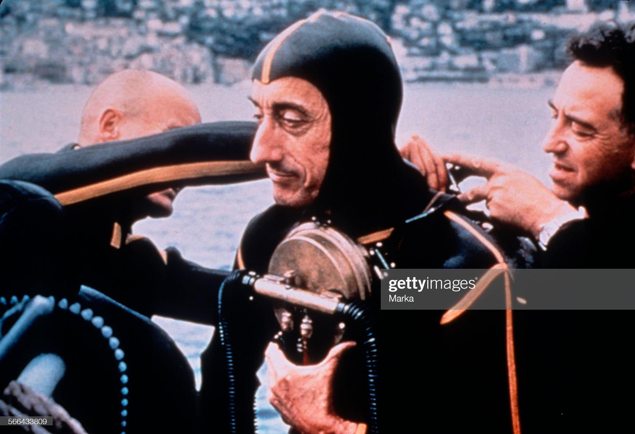 Jacques Yves Cousteau : Fotografía de noticias