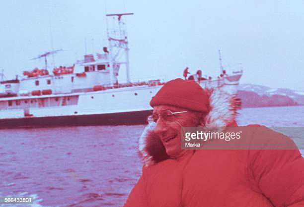Jacques Yves Cousteau The Oceanographic Ship Calypso