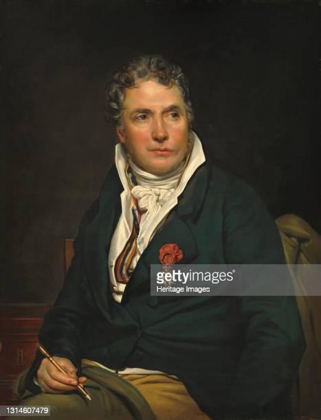 Jacques-Louis David, c. 1813/1815. Artist Studio of Georges Rouget.