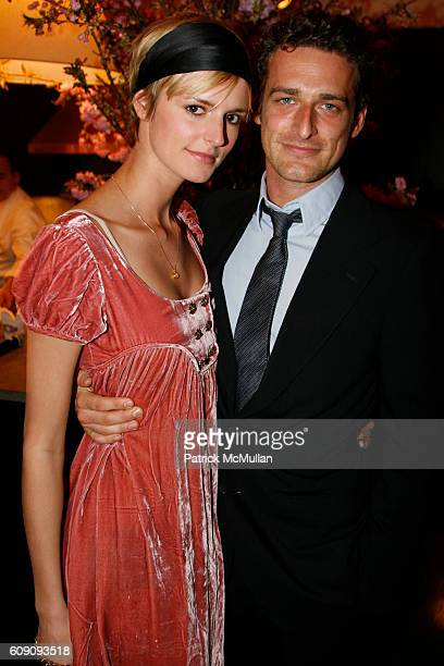 Jacquetta Wheeler and Alexi Lubomirski attend Milk Columbia Artists Management and Align Entertainment Group Present MILK SALON with a Special...