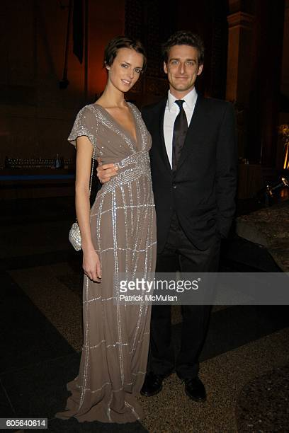 Jacquetta Wheeler and Prince Alexi Lubomirski attend The Winter Dance 2006 Desert Oasis Sponsored by VERSACE at The American Museum of Natural...