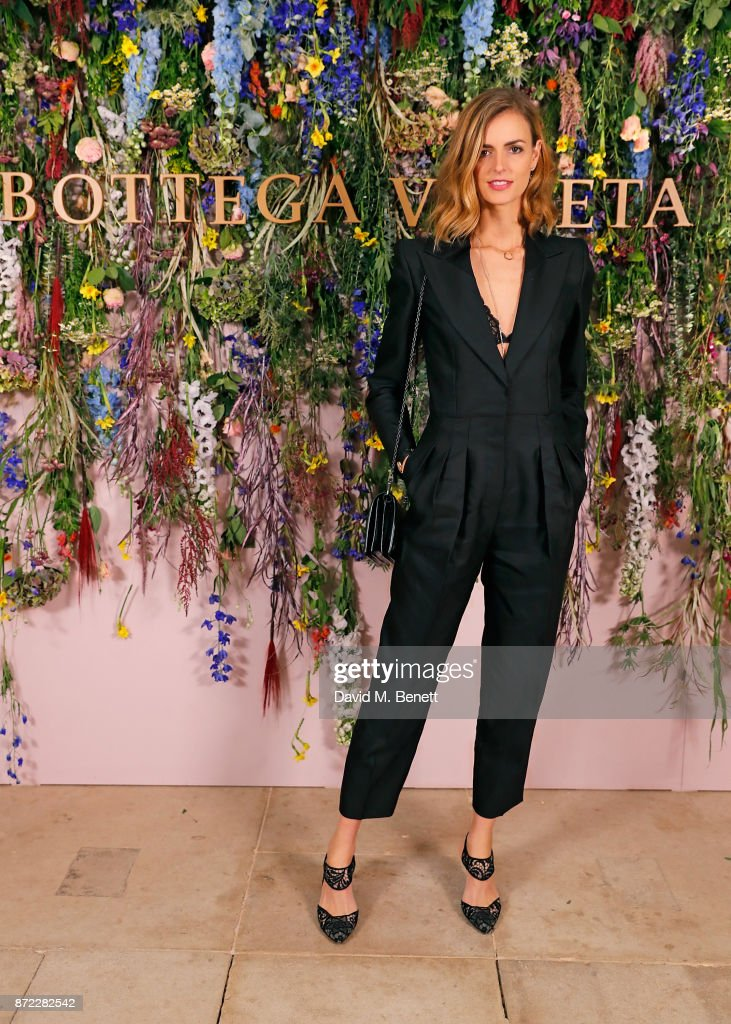 Jacquetta Wheeler attends Bottega Veneta's 'The Hand of the Artisan Cocktail Dinner' at Chiswick House And Gardens on November 9, 2017 in London, England.