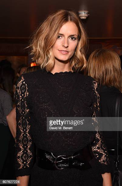 Jacquetta Wheeler attends the launch of 'Vogue Voice Of A Century' a new book celebrating Vogue Britain's centenary year hosted by Alexandra Shulman...