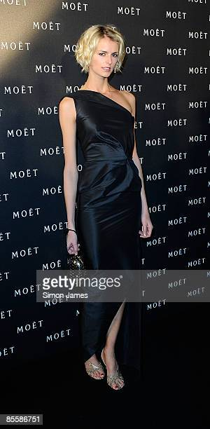 Jacquetta Wheeler attends the 'Moet Chandon A tribute to Cinema' at Big Sky Studios on March 24 2009 in London England