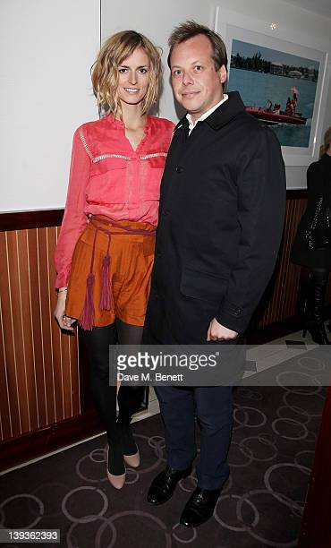 Jacquetta Wheeler attends the Vivienne Westwood aftershow dinner at Kitchen Joel Antunes at Embassy Mayfair during London Fashion Week Autumn/Winter...