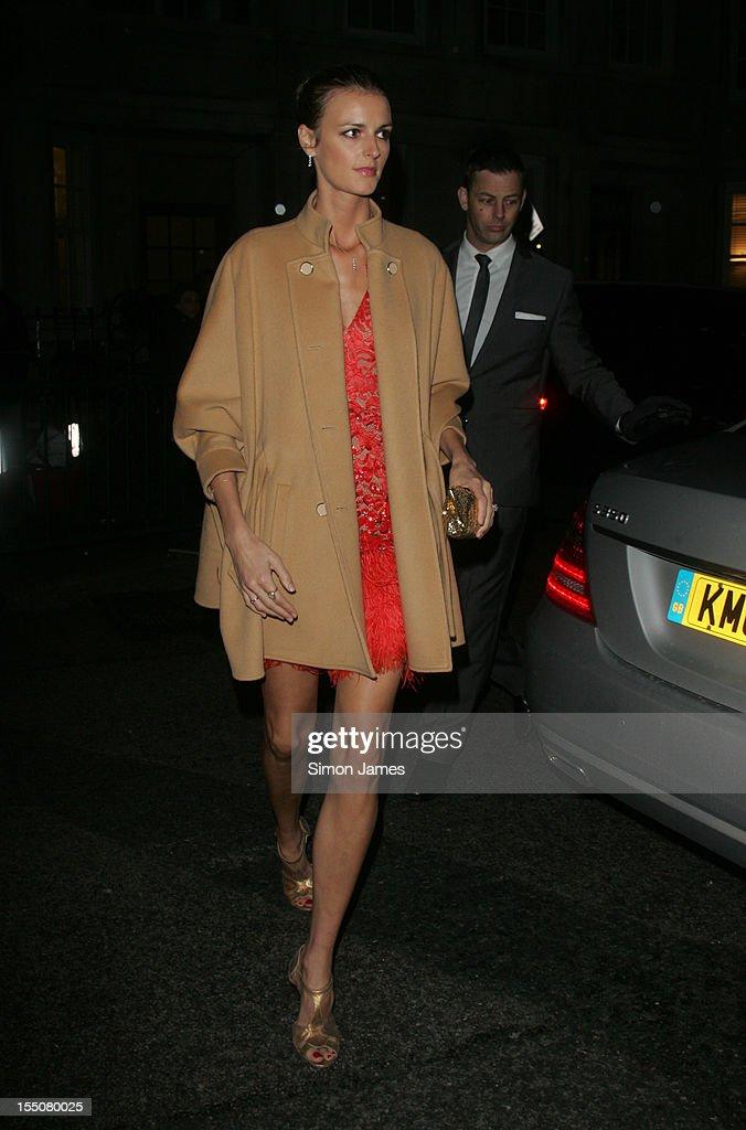 Jacquetta Wheeler sighting on October 31, 2012 in London, England.