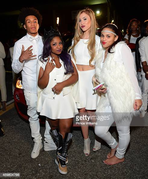 Jacquez Sloan, Reginae Carter, Emily Huff And Lolo Attend