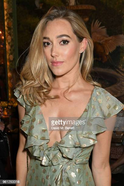 Jacqui Ainsley attends the Annabel's x Dior dinner on May 21 2018 in London England
