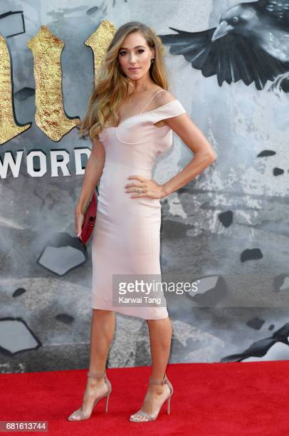 Jacqui Ainsley attends the European premiere of 'King Arthur Legend of the Sword' at Cineworld Empire on May 10 2017 in London United Kingdom
