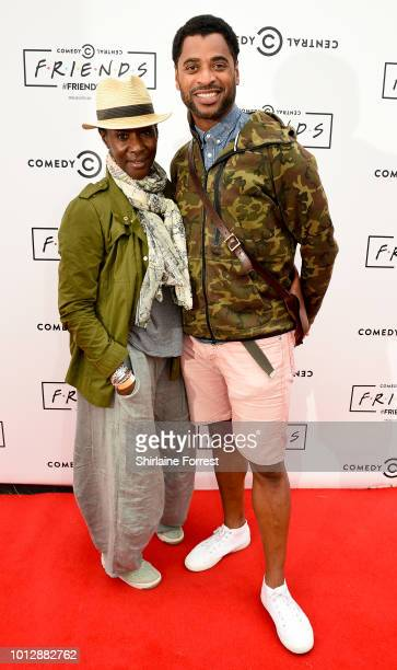 Jacqui Boatswain attends Comedy Central's FriendsFest at Heaton Park on August 7 2018 in Manchester England