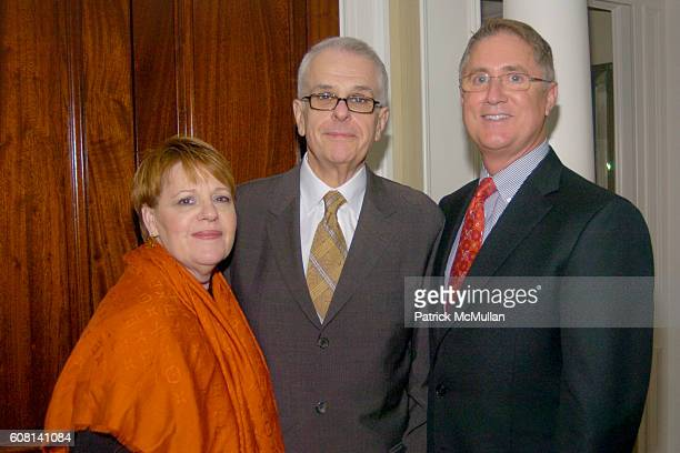 Jacqui Farina and Jim Gentry attend MICHAEL S SMITH AGRARIA COLLECTION LAUNCH at Lowell Hotel on April 18 2007
