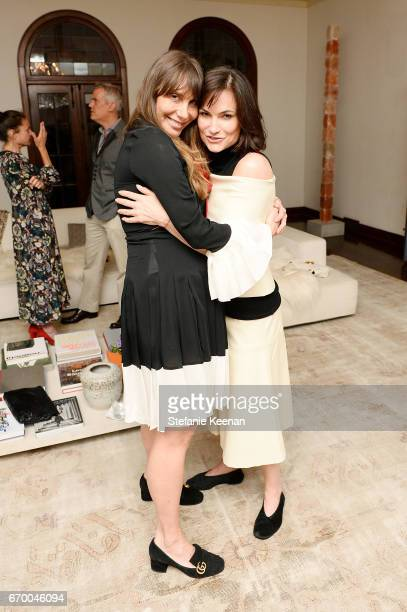Jacqui Getty and Rosetta Getty attend Tania Fares and Rosetta Getty, Together with Eric Buterbaugh, Gia Coppola, Jacqui Getty, Irena Medavoy,...
