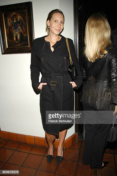 Jacqui Getty attends ETRO and Perrier Jouet celebrate the launch of Patrick McMullan's book KISS KISS at Chateau Marmont on February 28, 2006 in...