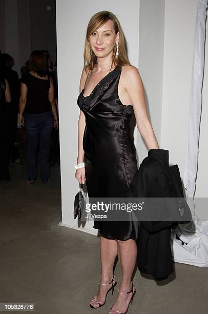 Jacqui Getty during Michel Comte's Benefit and Auction for People and Places With No Name Party at Ace Gallery in Los Angeles California United States