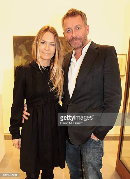 Jacqui HamiltonSmith and Sean Pertwee attend the patron's private view of 'Jake and Dinos Chapman Come and See' a new exhibition at The Serpentine...