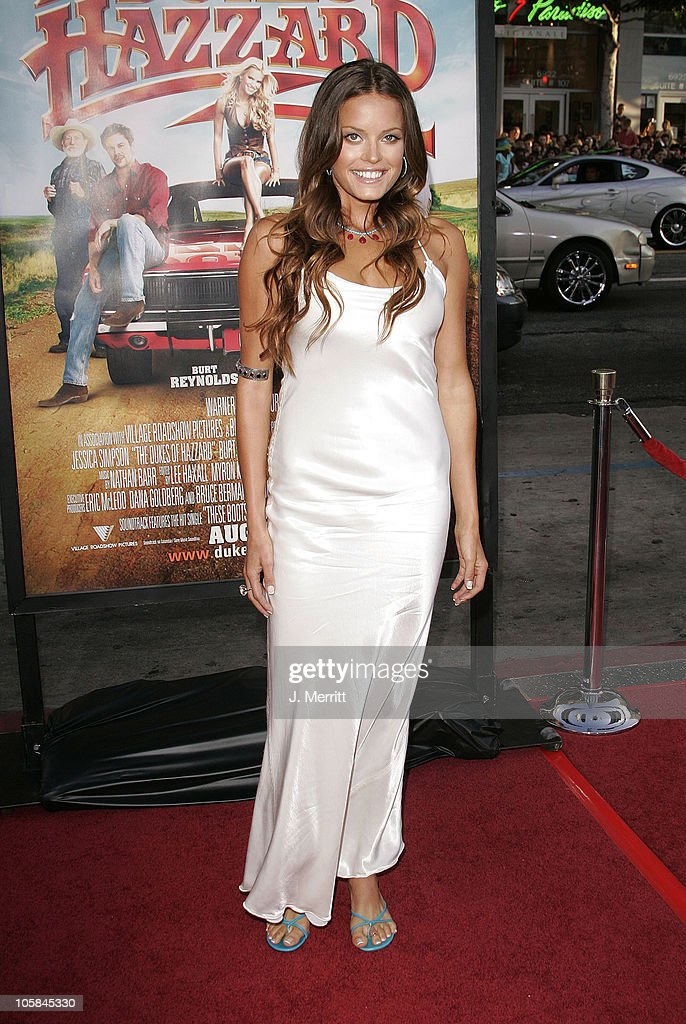Jacqui Maxwell during 'The Dukes Of Hazzard' Los Angeles Premiere - Arrivals at Grauman's Chinese Theatre in Hollywood, California, United States.