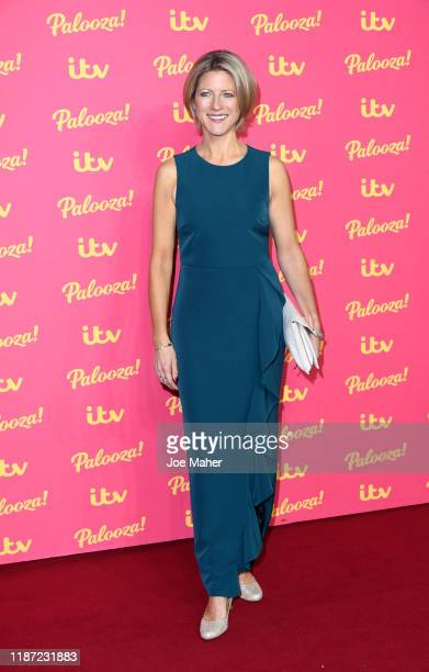 Jacqui Oatley attends the ITV Palooza 2019 at The Royal Festival Hall on November 12 2019 in London England
