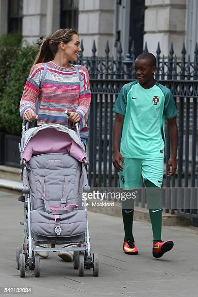 Jacqui Ritchie and David Banda sighting on June 22 2016 in London England