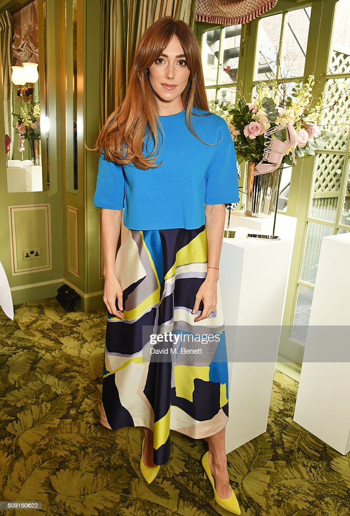 Jacqui Ritchie attends the L.K.Bennett x Bionda Castana lunch at Mark's Club on February 9, 2016 in London, England.