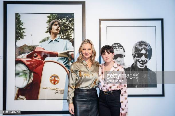 Jacquie Beltrao and Lauren Mahon attending Masterplan25 The Oasis Photographs private view on November 21 2019 in London England