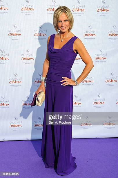 Jacquie Beltrao attends The Butterfly Ball A Sensory Experience in aid of the Caudwell Children's charity at Battersea Evolution on May 16 2013 in...