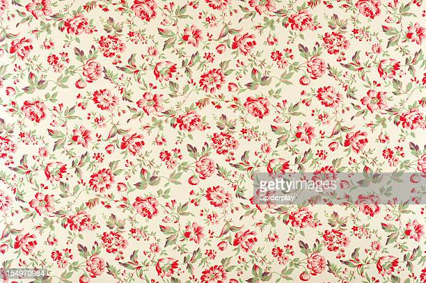 Jacquline Floral Antique Fabric