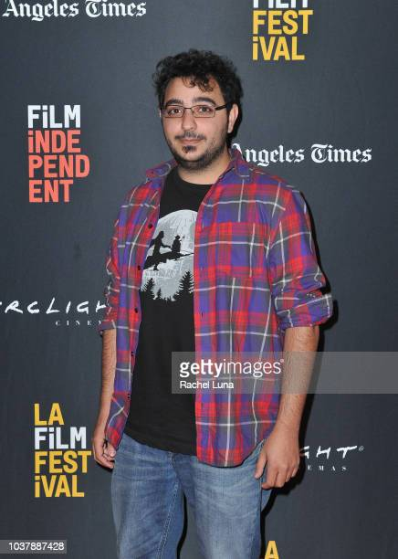 Jad Dani Ali Hassan attends the Global Media Makers presentation of 'Look at Me' during the 2018 LA Film Festival at ArcLight Culver City on...