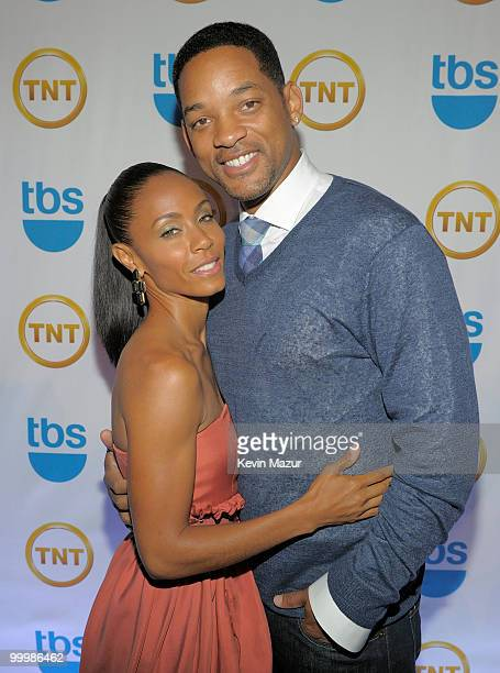 Jada Pinkett Smith and Will Smith attend the TEN Upfront presentation at Hammerstein Ballroom on May 19 2010 in New York City 19688_001_0471JPG