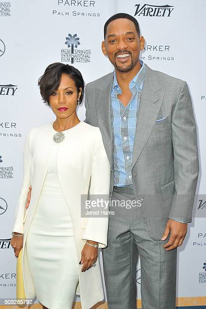 Jada Pinkett Smith and Will Smith attend Variety's Creative Impact Awards and 10 Directors To Watch Brunch at the Parker Palm Springs on January 3...