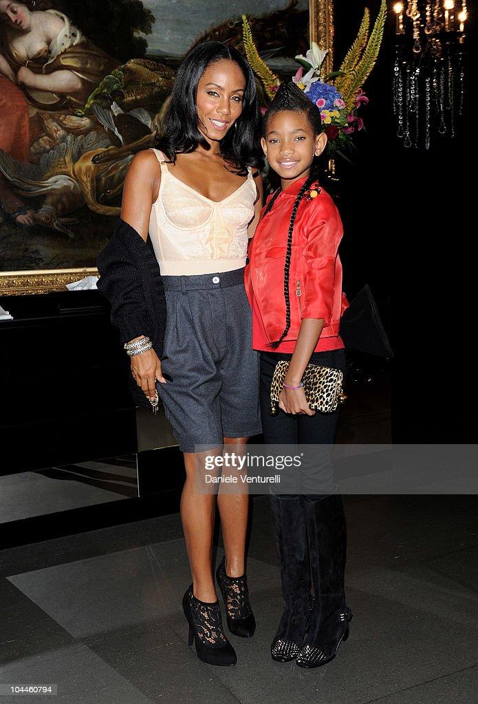 Milan Fashion Week Womenswear S/S 2011: Dolce & Gabbana VIP Room