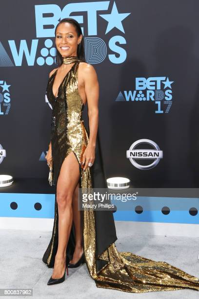 Jada Pinkett Smith at the 2017 BET Awards at Microsoft Square on June 25 2017 in Los Angeles California