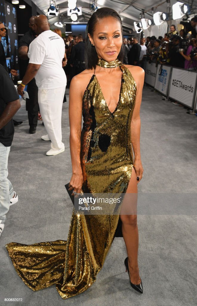 Jada Pinkett Smith at the 2017 BET Awards at Staples Center on June 25, 2017 in Los Angeles, California.